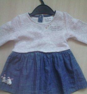 Платье 86-92 см