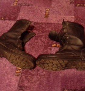 Солдатские ботинки (берцы)