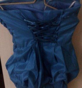 Вечерние платье с карсетом новое