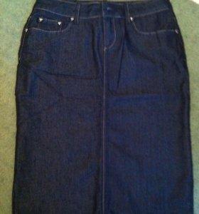Юбка джинсовая (новая)