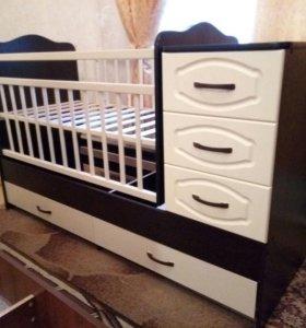 Новые Детские кроватки  Ангел