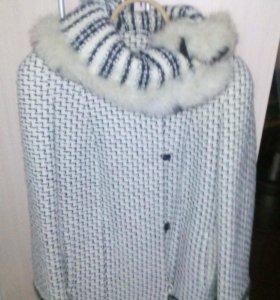 Полу пальто фабричное