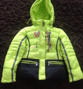 Зимняя Куртка для девочки 6 лет