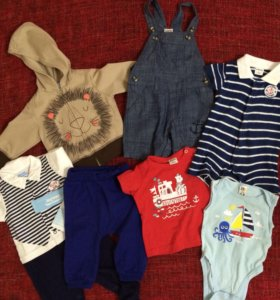 Одежда на ребёнка 3-6 месяцев пакетом