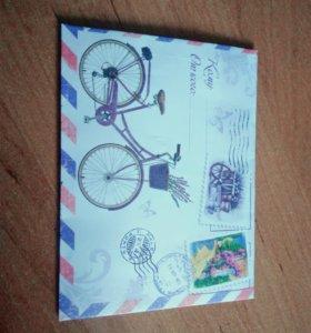 Декоративный конверт
