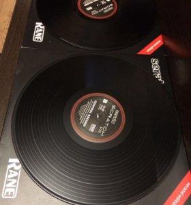Винил/Vinyl - Serato Scratch live - 2шт