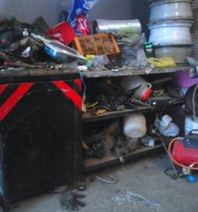 Верстак гаражный