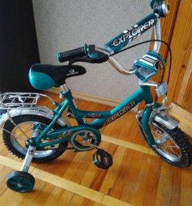 Велосипед детский от 3-х до 5-ти лет