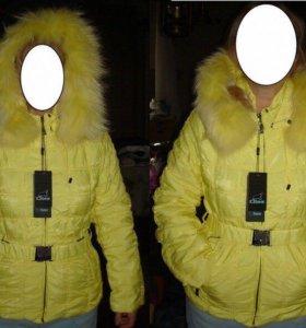 Куртка лимонного цвета, Ice Bear