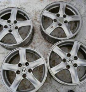 4 диска от Honda 16 5×114.3 6.5 55