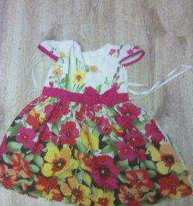 Детское платье новое. Купили оказалось маленькое.