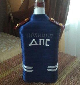 "Чехол ""подполковник ДПС"""