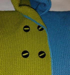 Детская вязания кофта