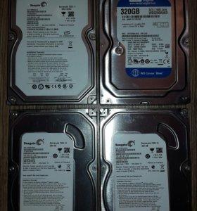 "HDD 3.5"" для стационарных ПК 250,320,500Gb."