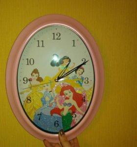 Часы настенные для девочки