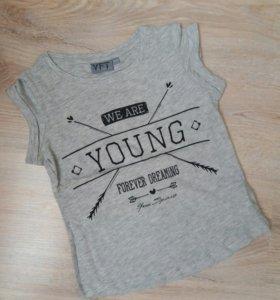 Новые футболки для девочки.