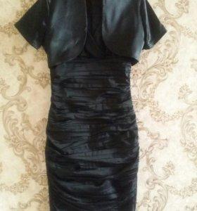 Платье с болеро р. 38-40