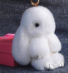 Зайка брелок игрушка