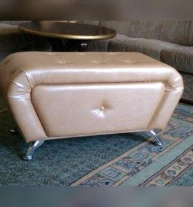 Диван, пуфик, мягкая мебель