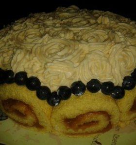 Домашние тортики