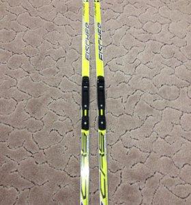 Беговые лыжи + крепления