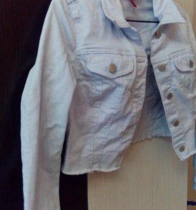 Куртка джинс укороченная