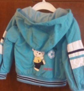 Куртка-ветровка на 1-2 года