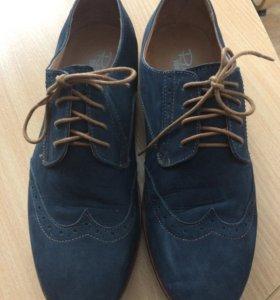Ботинки замшевые 42