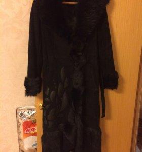 Женское пальто зимнее