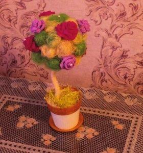 Топиарии-деревья счастья