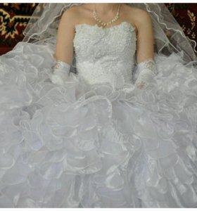 Свадебное платья(недорого)