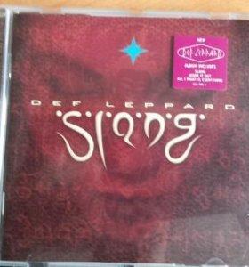 CD Def Leppard 1996 Slang