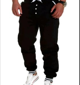 Стильные спортивные брюки  мужские размер xxl