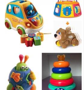 Набор игрушек + подарок