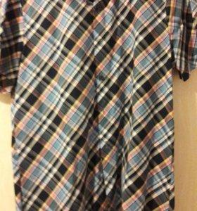 Рубашка мужская 46