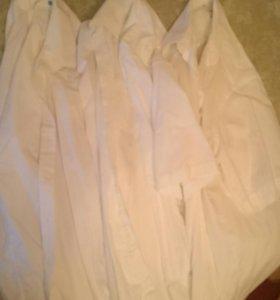 10 мужских рубашек 45-46р. по вороту