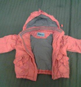 Куртка весна-осень для девочки.