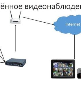 Монтаж ремонт систем безопасности,видеонаблюдния