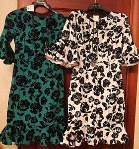 Платья бархатные