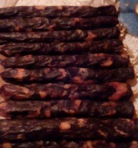 Конская колбаса (казы)