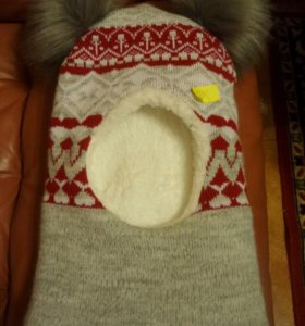 Новая детская зимняя шапка