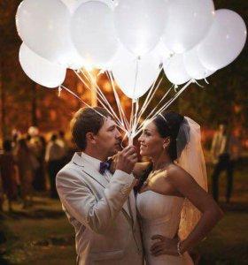 Светящиеся воздушные шары в Марксе