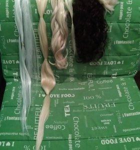 Термо волосы