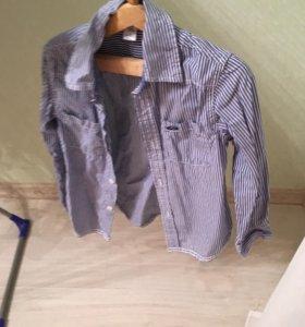 Рубашка и рубашка-жилетка