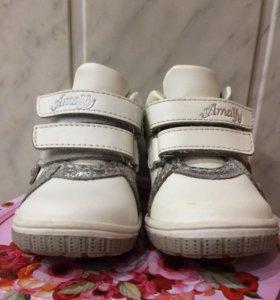 Ботинки детские,полностью нат.кожа оч.красивые🌟