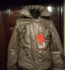 Новая куртка-пуховик зима