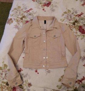 Джинсовая куртка united colores of benetton