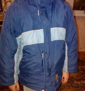 Куртка для мальчика 6 лет.