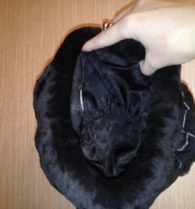 Женская новая меховая шапка