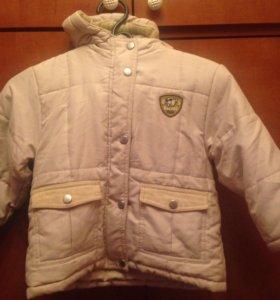 тёплая курточка осенняя
